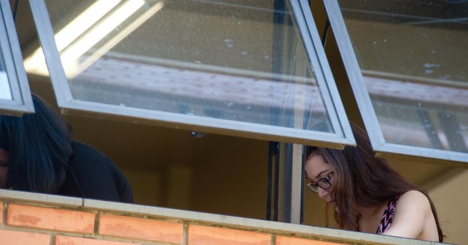 4.nov.2012 - Candidatos realizam segundo dia de provas do Enem 2012 em Porto Alegre