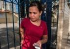 Agora é descansar: Maria do Carmo, 18, diz que vai aproveitar o sol na praia após a prova do segundo dia do Enem 2012 em Pernambuco - Edmar Melo/UOL