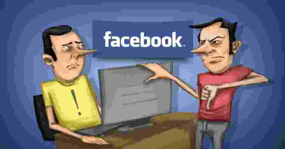 Abre para matéria: Dicas permitem se proteger dos amigos sem noção do Facebook - Arte UOL