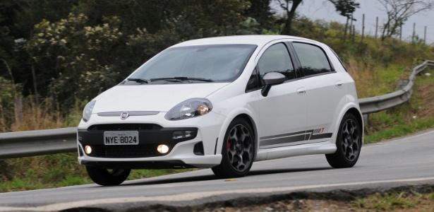 Fiat Punto T-Jet, versão apimentada do hatch, também está no recall - Murilo Góes/UOL