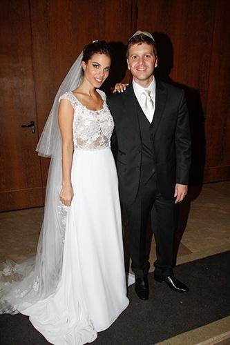 Imagem do casamento de Daniel Zuckerman com Marcela Maluf