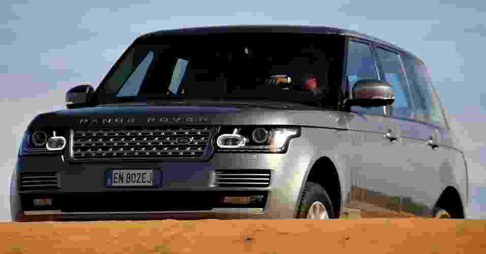Land Rover Range Rover V8 - André Deliberato/UOL