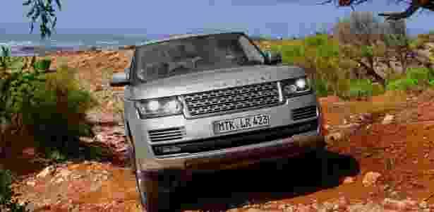 Nova geração do Range Rover Vogue foi lançada em 2012 no Brasil - André Deliberato/UOL