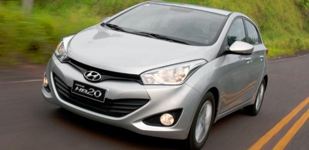 Em seu primeiro mês, o Hyundai HB20 teve 3.312 unidades vendidas; o número é ainda mais animador para a marca se lembrarmos que o carro só chegou às lojas no dia 10 (de acordo com a própria empresa) - Divulgação