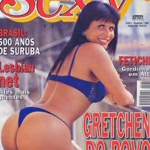 A cantora Gretchen em capa da