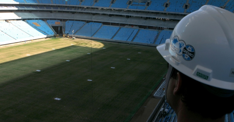 Arena do Grêmio a 30 dias de inauguração em Porto Alegre