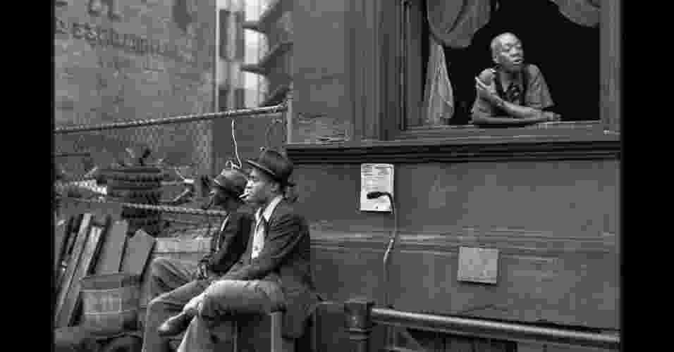 Dez fotos do fotógrafo francês Henri Cartier-Bresson - considerado o pai do fotojornalismo moderno - estão sendo exibidas na Somerset House, em Londres. As imagens nunca haviam sido exibidas na Grã-Bretanha - Henri Cartier-Bresson