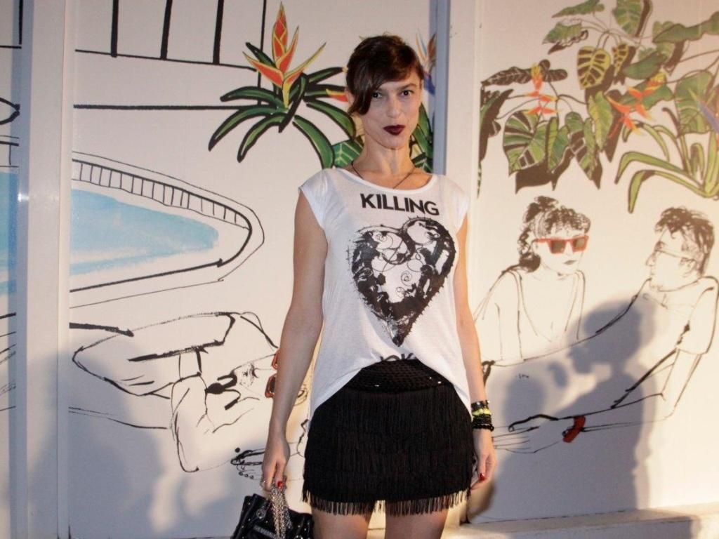 Maria Paula prestigia o Fashion Rio, no Píer Mauá (8/11/12)