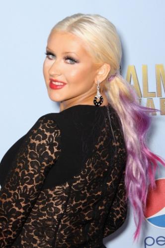 Rabo de cavalo - Christina Aguilera