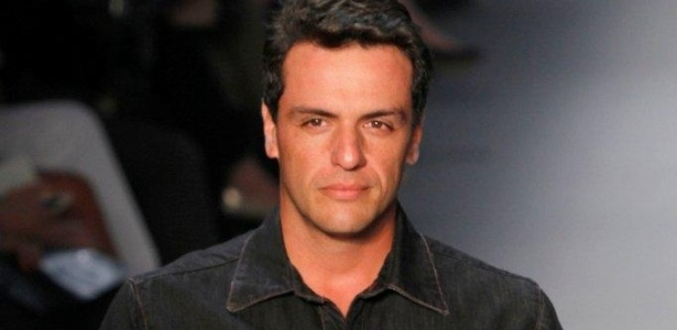 Rodrigo Lombardi desfila no Fashion Rio Inverno 2013 (7/11/11)