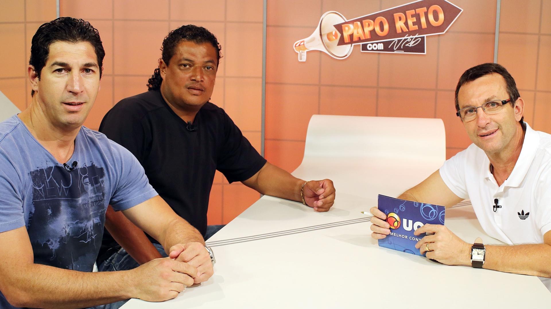 Sergio e Tonhão, ídolos do Palmeiras, analisam crise do clube no