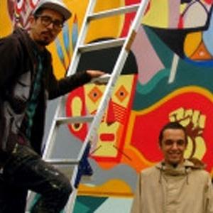 Trabalho de Titi Freak e Presto, que transformaram o muro da embaixada brasileira me Tóquio - BBC