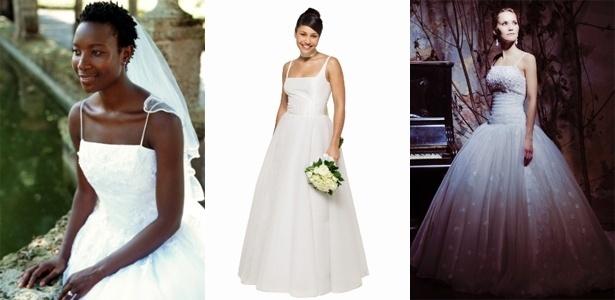 cb64bb9ff Vestido de alcinha é opção para noivas que hesitam em apostar no ...