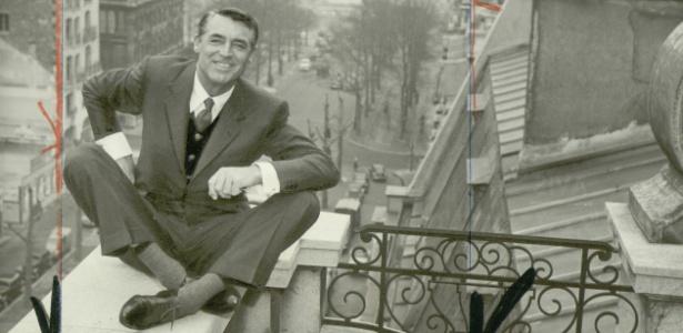 """Cary Grant em foto para o """"International Herald Tribune"""" - International Herald Tribune/EFE"""