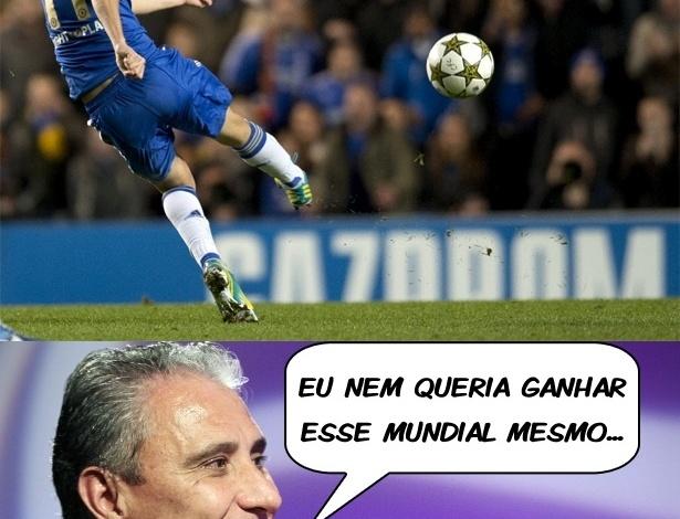 Corneta FC: Tite vê golaço de Oscar e brinca: