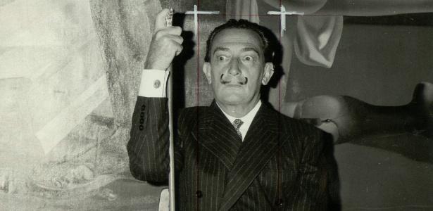 """Foto de Salvador Dalí para o """"International Herald Tribune"""" - International Herald Tribune/EFE"""