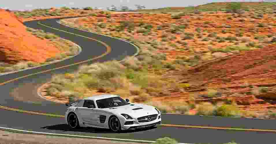 Mercedes-Benz SLS AMG Black Series - Divulgação