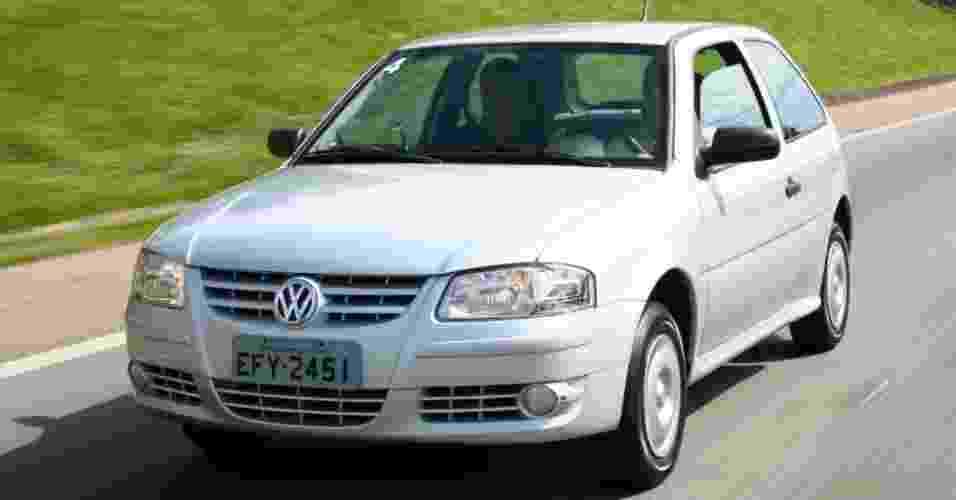 Volkswagen Gol G4 Ecomotion 1.0 - Nota A: 8,4/12 km/l na cidade; 9,8/14,1 km/l na estrada (etanol/gasolina) - Divulgação