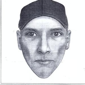 A Polícia Civil divulgou nesta quinta-feira (9) o retrato falado do homem acusado de estuprar jovem no RJ