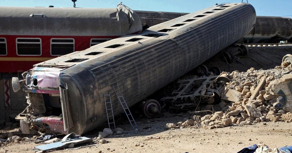 Acidente com trem no Irã deixa quatro mortos e 26 feridos