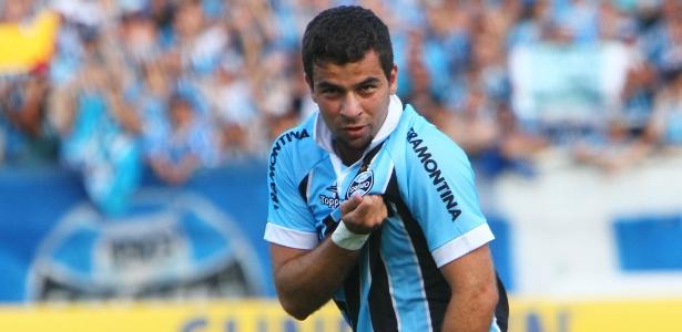 André Lima deixou o Grêmio no fim de 2012, mas ainda carrega o clube no coração