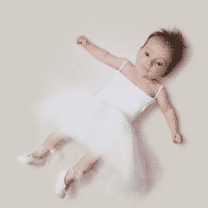 bebê, profissão, bailarina - Malo/Divulgação