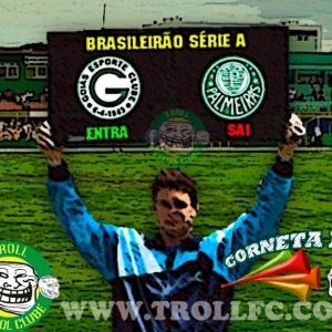 Corneta FC: Substituição na série A: sai Palmeiras e entra Goiás