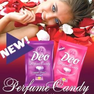 Deo Perfume Candy: a bala com gosto e cheiro de rosas que te deixa com cheiro de... rosas! - Reprodução