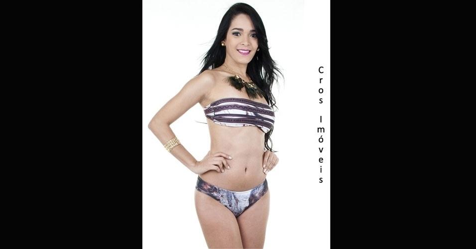 Miss Cros Imóveis, Thamires Alencar