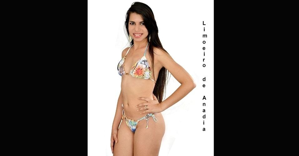 Miss Limoeiro de Anadia, Aline Ferreira