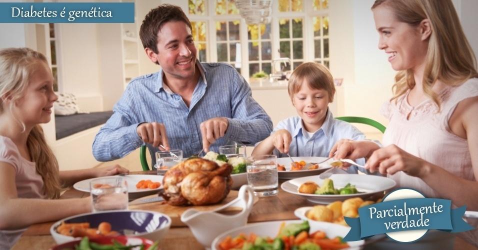 familia jantando, mito ou verdade