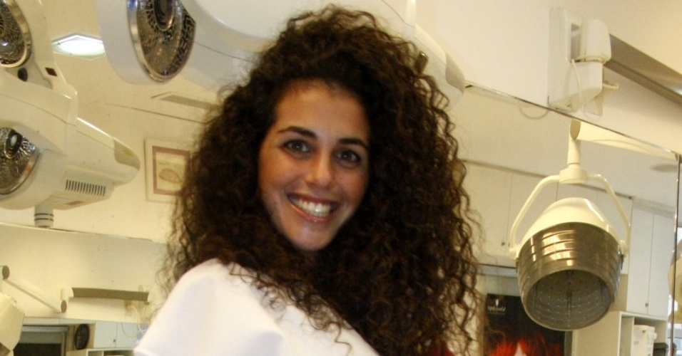 A espanhola Noemí, que participou do