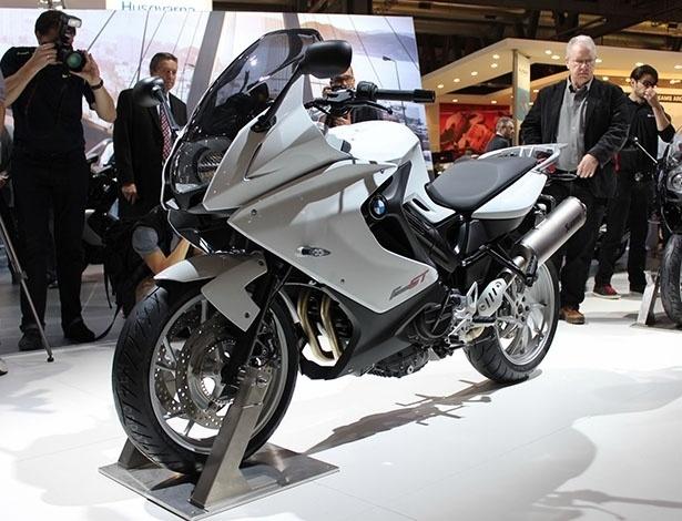 A BMW F 800 GT (foto) foi o grande lançamento da marca no Salão de Motos de Milão 2012 - Carlos Bazela/Infomoto