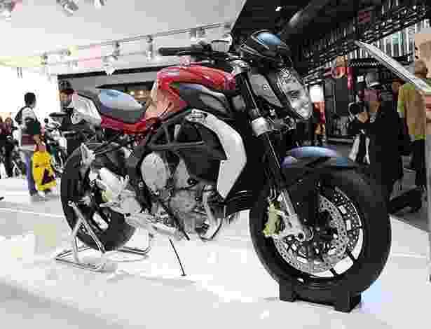 MV Agusta mostra novas Rivale 800 e Brutale 800 no Salão de Milão 2012 - Aldo Tizzani/Infomoto