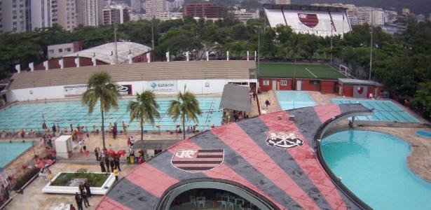 Um princípio de incêndio atingiu a sede social do Flamengo, na Gávea, zona sul do RJ