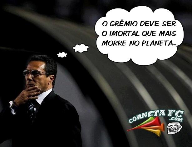 Corneta FC: Grêmio é o imortal que mais morre no planeta