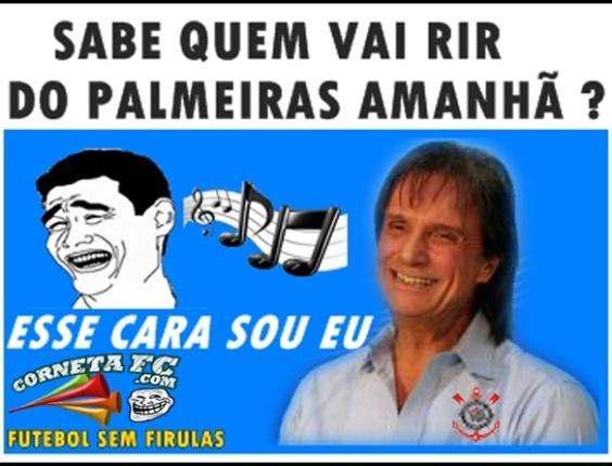 Corneta FC: Roberto Carlos canta para o Palmeiras
