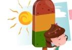 Aprenda a fazer receitinha fácil e colorida: picolé-semáforo