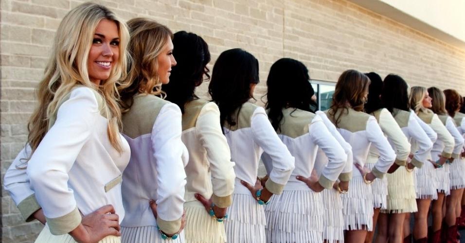Mulheres vestidas de