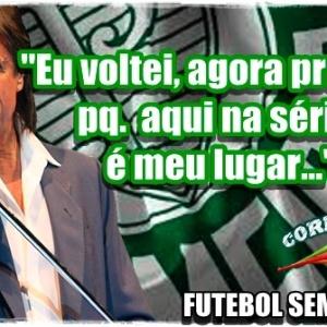 Corneta FC: Rei Roberto Carlos faz homenagem ao Palmeiras
