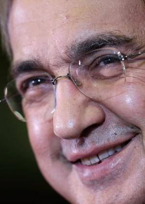 Sergio Marchionne, CEO do Grupo Fiat Chrysler, conta com o bom momento da Chrysler na América do Norte para recuperar a Fiat - Associated Press