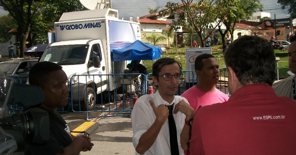 20.nov.2012 - Contratado há dois dias para atuar no programa da Rede Bandeirantes Pânico na TV,