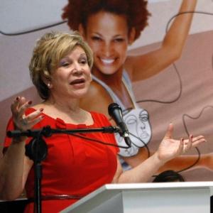 Marta Suplicy discursa durante lançamento de editais de cultura para produtores negros no Parque do Ibirapuera (20/11/12) - Divulgação/MinC