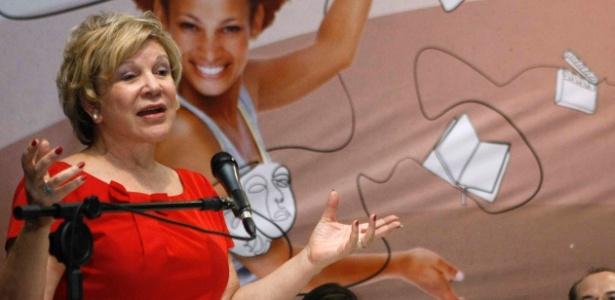 Marta Suplicy discursa durante lançamento de editais de cultura no Parque do Ibirapuera (20/11/12) - Divulgação/MinC