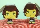 Faça a boneca 3D de Dessa, a torta holandesa cantora de Foodland