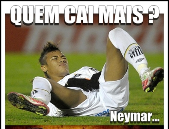 Corneta FC: Em duelo de quem cai mais, Palmeiras ganha de Neymar