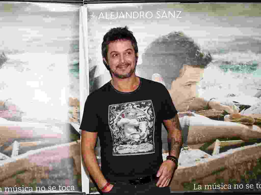 """O cantor espanhol Alejandro Sanz divulga o seu nono álbum """"La Música No Se Toca"""", em São Paulo (21/11/12) - Manuela Scarpa/Photo Rio News"""