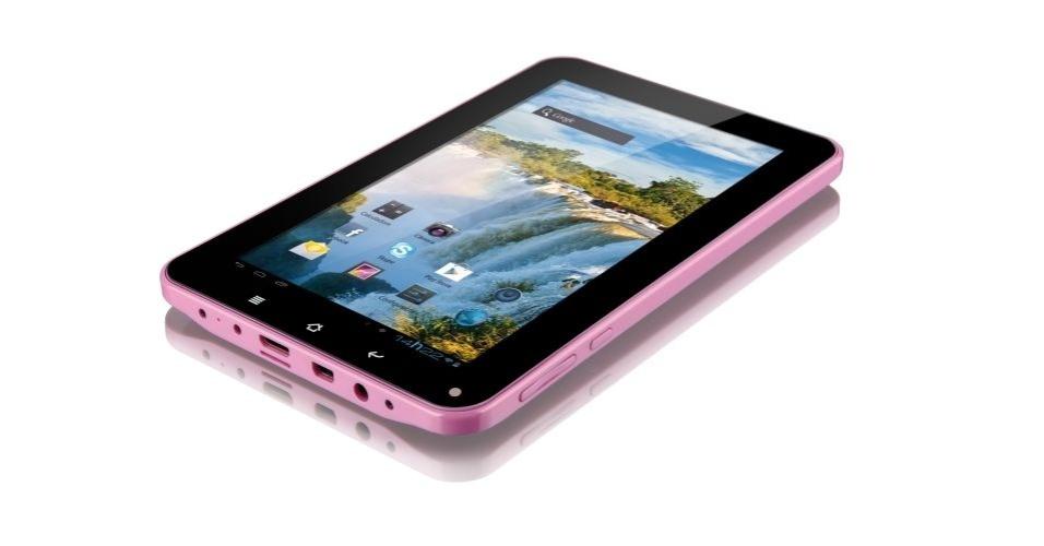O tablet Diamond, da Multilaser, possui tela de 7 polegadas, Android 4.0, câmera de 1,3 megapixels, memória interna de 8 GB e preço sugerido de R$ 600. O aparelho oferece bom touchscreen e boa qualidade de vídeo, mas demora para ligar