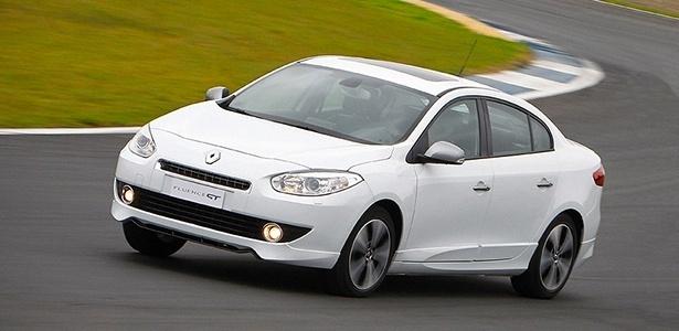 Renault Fluence GT, com 180 cv e 30,6 kgfm de torque, chega ao Brasil para ser o topo da gama da marca - Divulgação