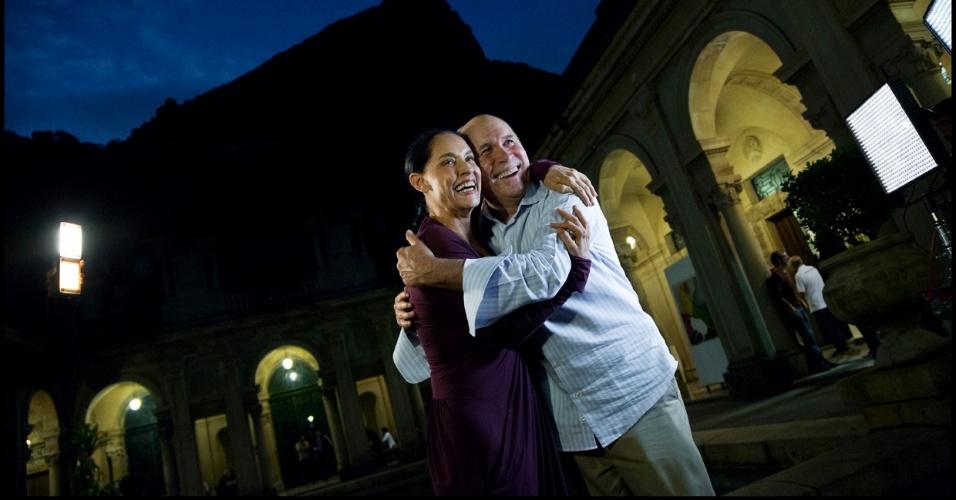 A atriz Sonia Braga foi uma das fotografadas por Steve McCurry para o Calendário Pirelli 2013 (22/11/12)